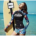 abordables Trajes acuáticos y camisetas antierupciones-Mujer Deportivo Tankini - Estampado, Floral Pierna de niño / Look deportivo