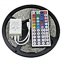 cheap Lighting Accessories-ZDM® Waterproof 5M 300X3528 SMD RGB LED Strip Light with 44Key Remote Controller (DC12V)