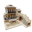 povoljno 3D puzzle-jigsaw zagonetke 3D puzzle Građevni blokovi DIY igračke Igračke za kućne ljubimce Drvo Igračka model i građenje