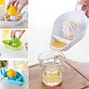 baratos Saca-rolhas e abridores-Utensílios de cozinha Plástico manual Juicer Fruta 1pç