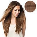 olcso Lófarok-Felcsatolható Human Hair Extensions Egyenes Emberi haj Női Napi