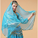 cheap Belly Dance Wear-Belly Dance Veil Women's Performance Tulle Crystals / Rhinestones Headwear / Veil