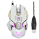 cheap Keyboard Accessories-ZERODATE Wired USB Gaming Mouse Optical X300 7 pcs keys Led breathing light 4 Adjustable DPI Levels 7 programmable keys 3200 dpi