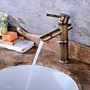 baratos Torneiras de Cozinha-Moderna Válvula Cerâmica Uma Abertura Cobre Envelhecido, Torneira pia do banheiro