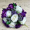 baratos Bouquets de Noiva-Bouquets de Noiva Buquês / Decoração de Casamento Original / Outros Casamento / Ocasião Especial / Festa / Noite Material / Renda 0-20cm