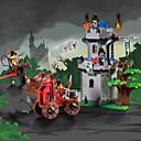 povoljno Building Blocks-ENLIGHTEN Kocke za slaganje Építőjátékok Građevinski set igračke Ratnik Dvorac kompatibilan Legoing Uradi sam Dječaci Djevojčice Igračke za kućne ljubimce Poklon / Poučna igračka