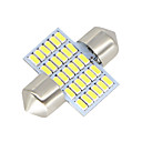 abordables Luces Interiores de Coche-SO.K 2pcs 31mm Coche Bombillas 3 W SMD 3014 300 lm LED Luces interiores