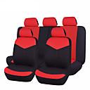 baratos Volantes e Suportes-Capas para Assento Automotivo Capas de assento Vermelho / Azul / Rosa claro Pele Comum