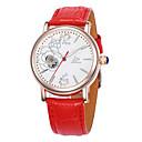 Χαμηλού Κόστους Μηχανικά Ρολόγια-Γυναικεία μηχανικό ρολόι Χαλαζίας 30 m Hot Πώληση Δέρμα Μπάντα Αναλογικό Φυλαχτό Μοντέρνα Λευκή / Κόκκινο / Μωβ - Λευκό Βυσσινί Κόκκινο