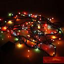 baratos Acessórios para gelo-5m Cordões de Luzes 100 LEDs Cor aleatória 110 V