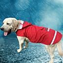 cheap Abstract Paintings-Cat Dog Hoodie Rain Coat Dog Clothes Solid Colored Red Blue Oxford cloth Terylene Costume For Pets Men's Women's Casual/Daily Waterproof