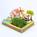 cheap Wooden Puzzles-3D Puzzle Model Building Kit House Paper Kid's Gift