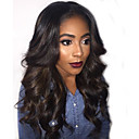 cheap Human Hair Wigs-Human Hair Glueless Full Lace Full Lace Wig Brazilian Hair Loose Wave Wig 130% Density with Baby Hair Natural Hairline African American Wig 100% Hand Tied Women's Short Medium Length Long Human Hair
