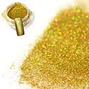 preiswerte Aufkleber für Nägel-1 pcs Puder / Glitzerpulver / Nagel Glitter Strahlend & Funkelnd / Laser-Holografie Nagel-Kunst-Design