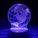 abordables Lámparas de Noche-AWOO 1pc Luz nocturna 3D Decorativa