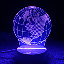 baratos Faixas de Luzes LED-AWOO 1pç Luz noturna 3D Decorativa