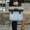 preiswerte Angelköder & Fliegen-Angelkoffer Angelkasten Sitz Box 4 Tabletts A Stufe ABS 27 cm*18 Zoll*17 cm