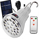 hesapli Dış Ortam Aydınlatma-1W LED Güneş Işıkları Uzaktan Kumandalı / Kolay Taşınır Serin Beyaz Dış Mekan / Kamp & Yürüyüş