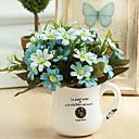 رخيصةأون زهور اصطناعية-زهور اصطناعية 1 فرع النمط الرعوي نباتات أزهار الطاولة