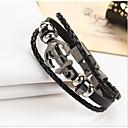 cheap Religious Jewelry-Men's / Women's Leather Bracelet - Leather Vintage Bracelet Black / Brown For Gift