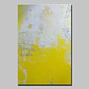 abordables Cuadros Abstractos-Pintura al óleo pintada a colgar Pintada a mano - Abstracto Estilo europeo Modern Lona