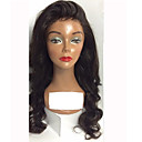 cheap Human Hair Wigs-Human Hair Glueless Lace Front / Lace Front Wig Body Wave Wig 130% Natural Hairline / African American Wig / 100% Hand Tied Women's Short / Medium Length / Long Human Hair Lace Wig