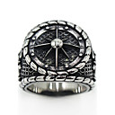 cheap Necklaces-Men's Women's Logo Ring - Stainless Steel Gothic 7 / 8 / 9 / 10 / 11 Silver For Special Occasion Party / Evening Daily