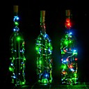 cheap Night Lights-1pc Wine Bottle Stopper LED Night Light Atmosphere Lamp Decoration