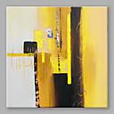 رخيصةأون لوحات تجريدية-هانغ رسمت النفط الطلاء رسمت باليد - تجريدي ملخص تشمل الإطار الداخلي / امتدت قماش