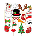 olcso Karácsonyi parti kellékek-Karácsony / Különleges alkalom Anyag / Kartonpapír Esküvői dekoráció Ünneő Tavasz, Ősz, Tél, Nyár