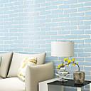 baratos Torneiras de Banheira-3D Tijolo Decoração para casa Moderna Revestimento de paredes, Papel não tecido Material Auto-adesivo papel de parede, Cobertura para