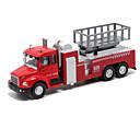 baratos Caminhões de brinquedo e veículos de construção-Caminhão de Bombeiro Caminhões & Veículos de Construção Civil Carros de Brinquedo Veículos de Metal Carrinhos de Fricção Liga de Metal