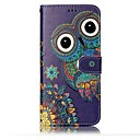 cheap Cell Phone Cases & Screen Protectors-Case For Samsung Galaxy S8 Plus / S8 Wallet / Card Holder / with Stand Full Body Cases Owl Hard PU Leather for S8 Plus / S8 / S7 edge