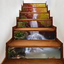 cheap LED Flood Lights-Landscape Wall Stickers 3D Wall Stickers Waterproof, Vinyl Home Decoration Wall Decal Floor