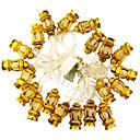 preiswerte LED Lichterketten-KWB 5m Leuchtgirlanden 20 LEDs Mehrfarbig Abblendbar 220 V / 110-130 V