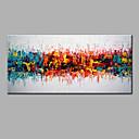 baratos Brinquedos Ábaco-Pintura a Óleo Pintados à mão - Abstrato Moderna Tela de pintura
