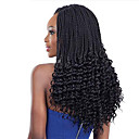 cheap Hair Braids-Braiding Hair Curly / Bouncy Curl / Crochet Curly Braids / Hair Accessory / Human Hair Extensions 100% kanekalon hair Hair Braids Daily