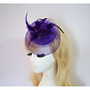 cheap Party Headpieces-Resin / Cotton Fascinators / Flowers / Hats with 1 Wedding / Special Occasion / Halloween Headpiece