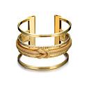 cheap Bracelets-Women's Hollow Cuff Bracelet / Wide Bangle - Punk, Fashion Bracelet Gold For Christmas Gifts / Birthday / Gift