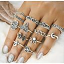 זול Fashion Ring-בגדי ריקוד נשים טבעת - סגסוגת וינטאג' מידה אחת One Size זהב / כסף עבור יומי