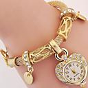 Недорогие Часы-браслеты-Жен. Модные часы Часы-браслет Наручные часы Цифровой Металл Серебристый металл / Золотистый Аналоговый Серебряный Золотистый