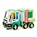 cheap Wooden Puzzles-Robotime Toy Car 3D Puzzle Jigsaw Puzzle Wood Model Truck DIY Wood Classic Construction Truck Set Kid's Adults' Unisex Gift