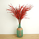 cheap Christmas Decorations-Artificial Flowers 10 Branch European Style Plants Tabletop Flower