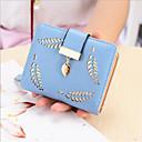 cheap Wallets-Women's Bags PU(Polyurethane) Coin Purse Hollow-out Blue / Black / Blushing Pink