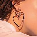 cheap Jewelry Sets-Women's Drop Earrings - Heart Fashion, Euramerican Gold / Silver / Rose Gold For Daily / Casual