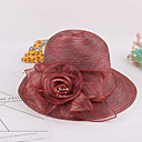 hesapli Parti Başlıkları-Kadın's Sevimli Organze Kıvırılan Şapka - Karışık Renk, Kırk Yama