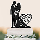 cheap Wedding Shoes-Cake Topper Birthday Wedding High Quality Plastic Wedding Birthday with 1 PVC Bag