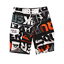 cheap Fishing Rods-Men's Sporty Bottoms - Letter Print Board Shorts