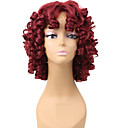 cheap Tools & Accessories-Synthetic Wig Curly Synthetic Hair African American Wig Red Wig Women's Short Capless