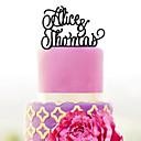 baratos Adesivos, Rótulos e Etiquetas-Decorações de Bolo Tema Clássico / Casamento Plástico Casamento / Aniversário com 1 pcs Bolsa Poly